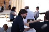 Diskussion und Austausch zum Areal