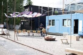 Der Marktplatz der Container City
